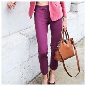 """BODEN Richmond 30"""" Trouser Pants Pink Mauve"""
